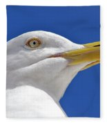 British Herring Gull Fleece Blanket