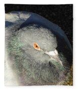 British Pigeon Fleece Blanket