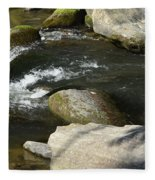 Broad River  Fleece Blanket