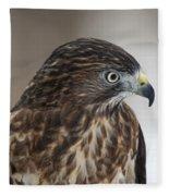 Broad-winged Hawk Fleece Blanket