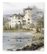 Broadmoor Hotel Fleece Blanket