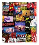 Broadway 14 Fleece Blanket