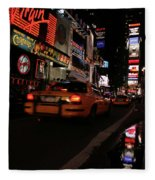 Broadway Lights Fleece Blanket