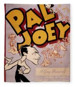 Broadway: Pal Joey, 1940 Fleece Blanket