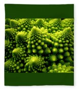 Broccoli Fleece Blanket