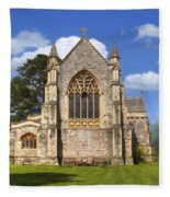 Brockenhurst - Hampshire - Uk Fleece Blanket