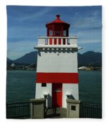 Brockton Point Light Fleece Blanket