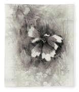 Broken Blossom Fleece Blanket