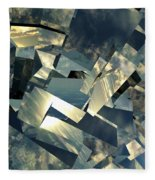 Broken Sky Fleece Blanket