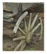 Broken Wheel Fleece Blanket