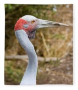 Brolga Profile Fleece Blanket