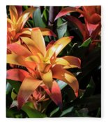 Bromeliads Fleece Blanket