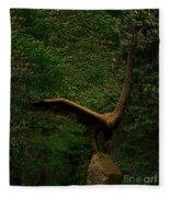 Bronze Eagle Fleece Blanket