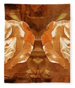 Bronzed Fleece Blanket