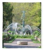 Brookgreen Gardens 3 Fleece Blanket