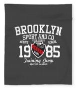 Brooklyn 1985 Fleece Blanket