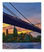 Brooklyn Bridge Collection - 2 Fleece Blanket