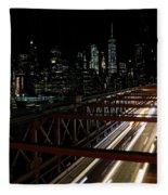 Brooklyn Lights Fleece Blanket