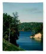 Brookville Lake Brookville Indiana Fleece Blanket