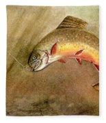 Brown Trout Fleece Blanket