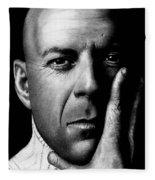 Bruce Willis Fleece Blanket