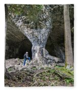 Bruce's Caves Fleece Blanket