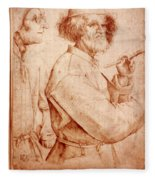 Bruegel: Painter, 1565 Fleece Blanket