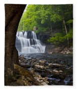 Brush Creek Falls II Fleece Blanket