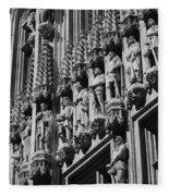 Brussels Gothic Fleece Blanket