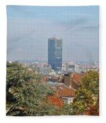 Brussels View Fleece Blanket