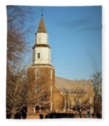 Bruton Parish Episcopal Church Fleece Blanket