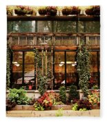 Bryant Park Grill Fleece Blanket