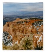 Bryce Canyon Series #7 Fleece Blanket