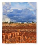 Bryce Canyon 27 - Sunset Point Fleece Blanket