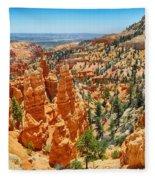 Bryce Canyon Fairyland Vista Fleece Blanket