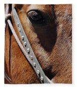 Bryce Canyon Horse Portrait Fleece Blanket