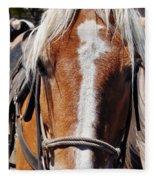 Bryce Canyon Horseback Ride Fleece Blanket