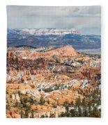 Bryce Canyon Looking Towards Aquarius Plateau   Fleece Blanket