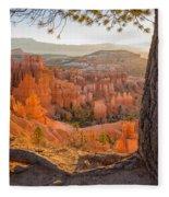 Bryce Canyon National Park Sunrise 2 - Utah Fleece Blanket