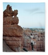 Bryce Canyon Navajo Loop Trail Window Fleece Blanket