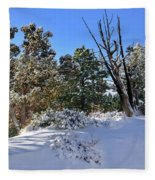 Bryce Canyon Snowfall Fleece Blanket