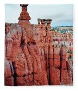 Bryce Canyon Thors Hammer Portrait Fleece Blanket