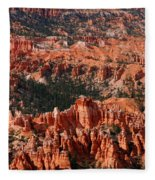 Bryce Canyon Vertical Fleece Blanket