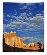 Bryce Time Fleece Blanket
