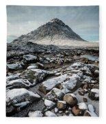 Buachaillie Etive Mor, Glencoe, Scotland Fleece Blanket