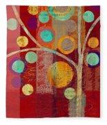 Bubble Tree - 85lc13-j678888 Fleece Blanket