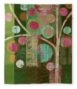 Bubble Tree - 85lc16-j678888 Fleece Blanket