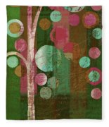 Bubble Tree - 85rc16-j678888 Fleece Blanket