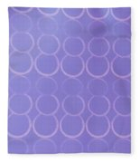 Bubbles All Over The Place 3 Fleece Blanket
