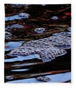 Bubbles In Bubbles Fleece Blanket